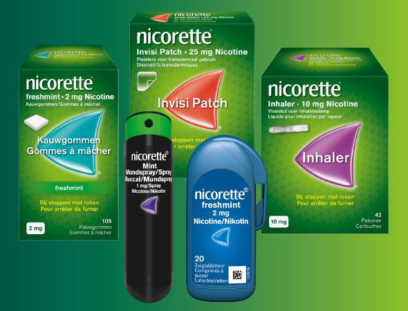 NICORETTE® Producten